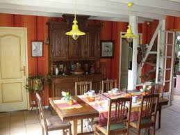 Landes Dining Room Landes Houses Ch Blue Yellow Vielle Soubiran Landes