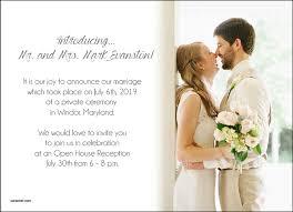 wedding announcements simple photo wedding announcements photo card chef
