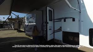 flagstaff rv floor plans forest river flagstaff classic super lite 5th 8528rlikws youtube