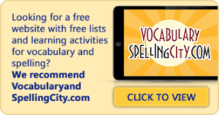 spelling words by grade level elementary and middle