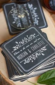 wedding coasters customize your wedding coasters for that special touch