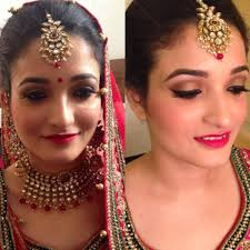 makeup artist school cost tejasvini chander freelance bridal makeup artist delhi wedding