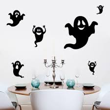 costume party halloween decoration 3d waterproof flying ghost wall