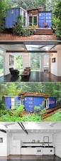 how to build your own shipping container home upper deck