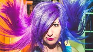best colors with purple appealing best color hair piercings u tattoos of pink blue and