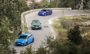 Golf R 400 Specs 2016 Ford Focus Rs Vs Subaru Wrx Sti Vw Golf R U2013 Comparison Test