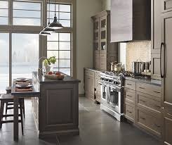 kitchen cabinets with island gray kitchen cabinets with island decora cabinetry