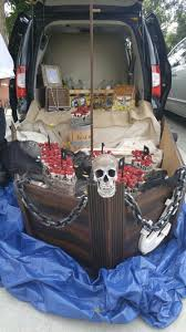 trunk or treat pirate ship halloween and thanksgiving