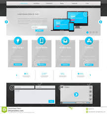 business website template home page design clean and simple