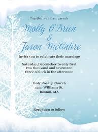 Christmas Wedding Invitations Ice Blue Winter Wedding Invitation Tree Wedding Invitations Winter