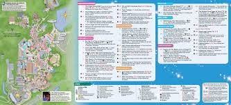 Hollywood Florida Map by Disney U0027s Hollywood Studios Guide Map December 2015 Photo 2 Of 2