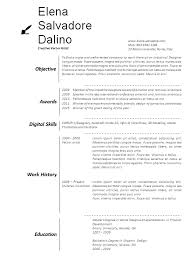 free art resume templates free word artists resume template