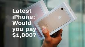 would you pay 1 000 for the latest iphone video tech gadgets