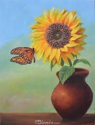 sunflower and the butterfly jmlisondra com