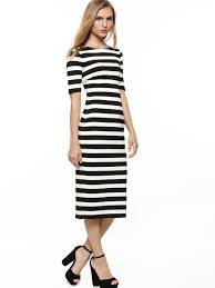 forever 18 online shop buy stripe dress for women women s black porcelain stripe