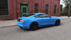 Blue And Black Mustang Gallery 2017 Ford Mustang 50 With Ford Performance Parts 2 Autoweek