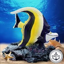 merle pet resin gill from finding nemo aquarium decoration