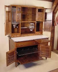 oak hoosier cabinet signed