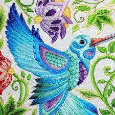 Fish Bone Stitch Embroidery Tutorials Fantastic Feathers In Embroidery