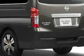old nissan van tokyo show preview new nissan nv350 van