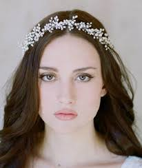 retro headbands retro country style wedding pearls with