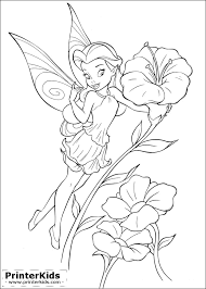 coloring amusing tinkerbell color coloring