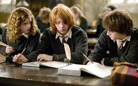 harry ron hermione and the path to growing up and saving the
