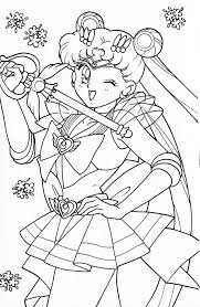 coloring pages kids sailor moon crystal coloring pages usagi