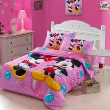 Mickey Mouse Toddler Duvet Set Minnie Mouse Twin Bedding Set Minnie Mouse Bedding Sheet Set