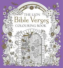 the lion bible verses colouring book kregel