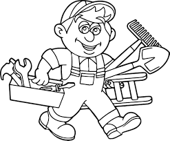 coloring handyman jobs 28 printable coloring pages handy