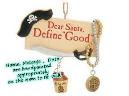 buy define pirate ornament personalized ornament from a