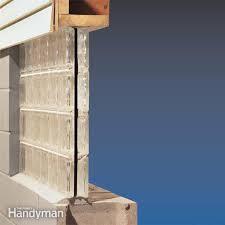 installing glass block windows in basement family handyman
