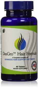amazon com dasgro hair growth vitamins with biotin and dht
