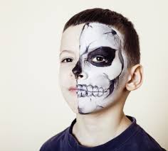 Skeleton Face Painting For Halloween by Inspirational Halloween Face Painting For Kids Pryme