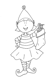 coloring pages of elf fortune elf on the shelf girl coloring pages e 499 unknown