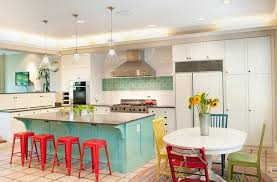Colorful Kitchen Ideas Cheerful Bright Colored Kitchen Ideas