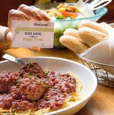 olive garden pasta passes sold out instantly daily mail online