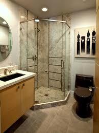 stone master bathroom natural round pebble stone wall tile