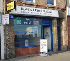 the shop bureau de change home dover eurochange