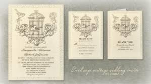 read more u2013 vintage bird cage wedding invitations wedding