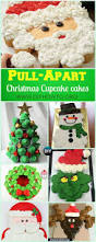 christmas pull apart cupcake cake decoration ideas all about pull