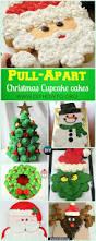 diy pull apart christmas cupcake cake design ideas pull apart