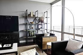 single man home decor single man living room design white wall paint color drum shape
