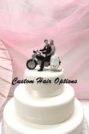 motorcycle cake wedding cake topper personalized motorcycle and