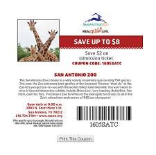 san antonio zoo lights coupon houston zoo printable coupons 2018 wilderness gatlinburg deals