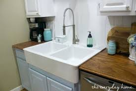 drop in apron front kitchen sink large size of drop in apron front