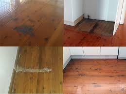 Laminate Flooring And Water Damage Sanding U0026 Polishing Gallery Burnt Water Damaged Floors