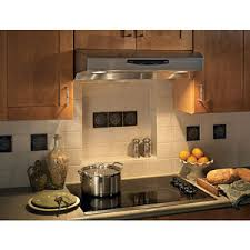 stainless steel under cabinet range hood bqs236ss allure ii under cabinet range hood stainless steel at