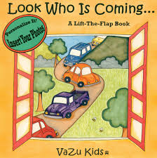look who is coming personalized book vazu zuma ayriyan